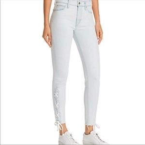 Joe's Jeans The Charlie Ankle Lace Up Jeans 28